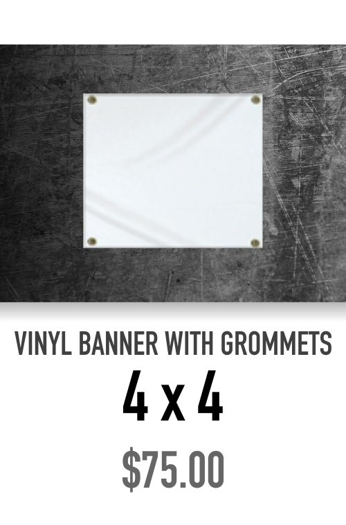 X Vinyl Banner With Grommets Mojo Sportsgear - Vinyl banners with grommets